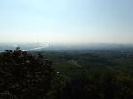 (Dunstiger) Blick über Wien vom Kahlenberg. ©bundesligainwien.at